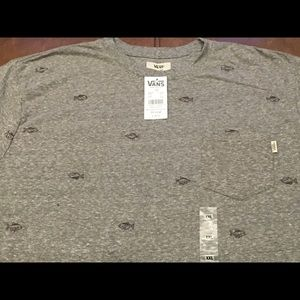 Vans T-Shirt Size 2XL Men's New With Tags